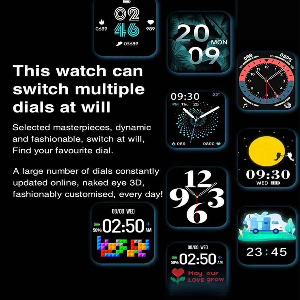 HW22 Smart Watch Activity Tracker Unisex Fitness Band and Health Monitor_3