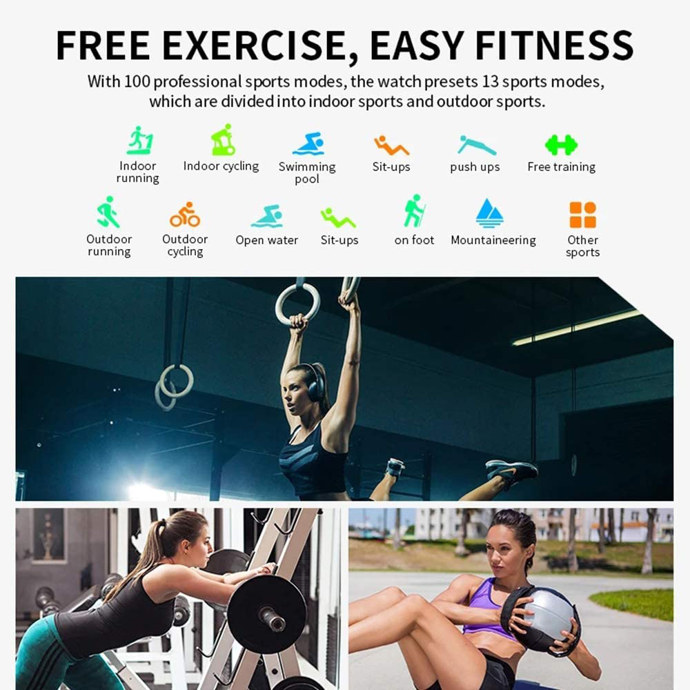 HW22 Smart Watch Activity Tracker Unisex Fitness Band and Health Monitor_4