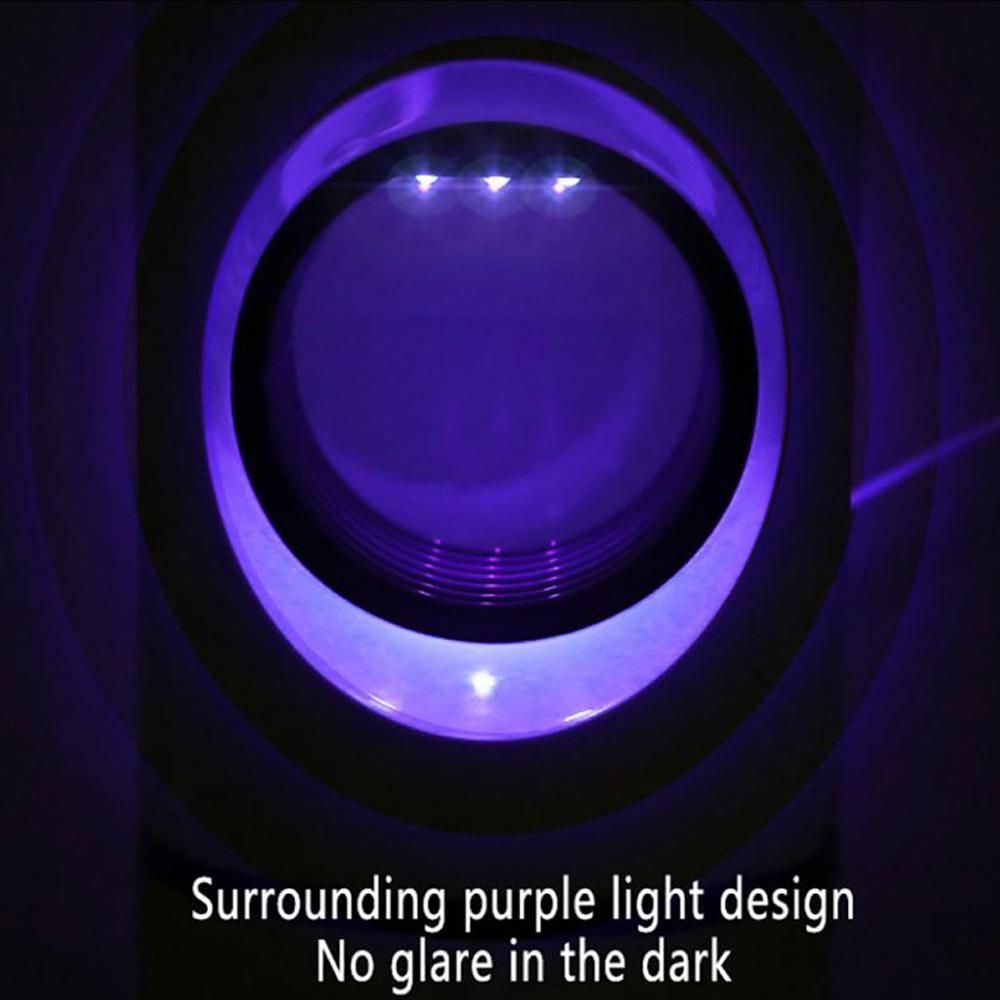 Ultraviolet LED Mosquito Killer Lamp UV Insect Trap Killer_5