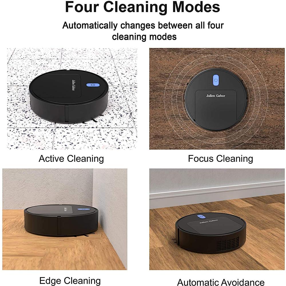 Smart Sweeper Mini Robot Vacuum Household Cleaning Machine_3