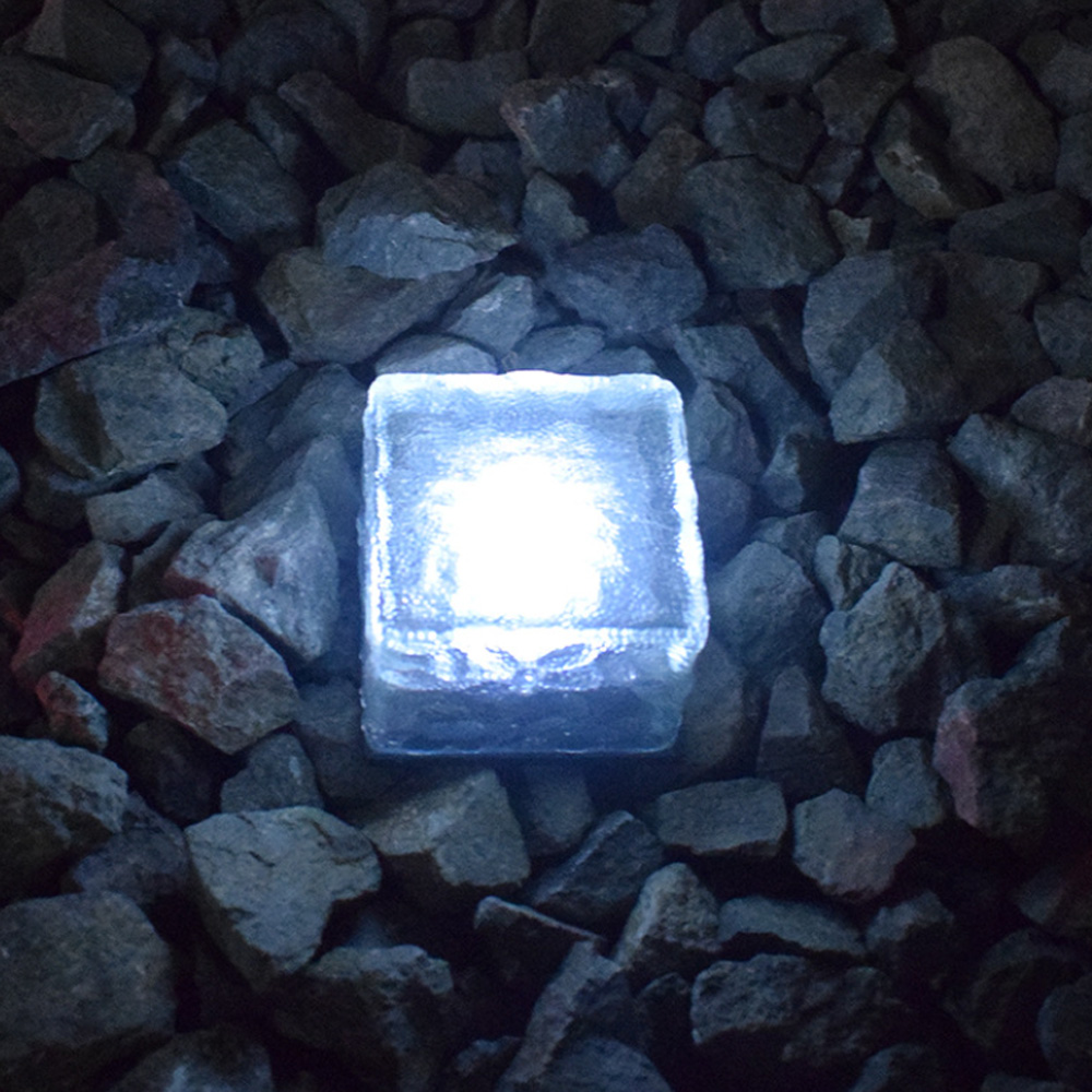 Solar Powered Multi-Color Light Up LED Light Cubes with Switch_3