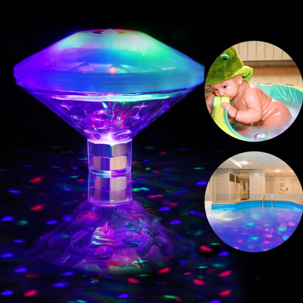 Floating Underwater RGB LED Light for Swimming Pool Bath Tubs_1