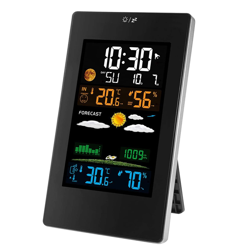 Wireless Indoor and Outdoor Weather Station with Color Screen_2