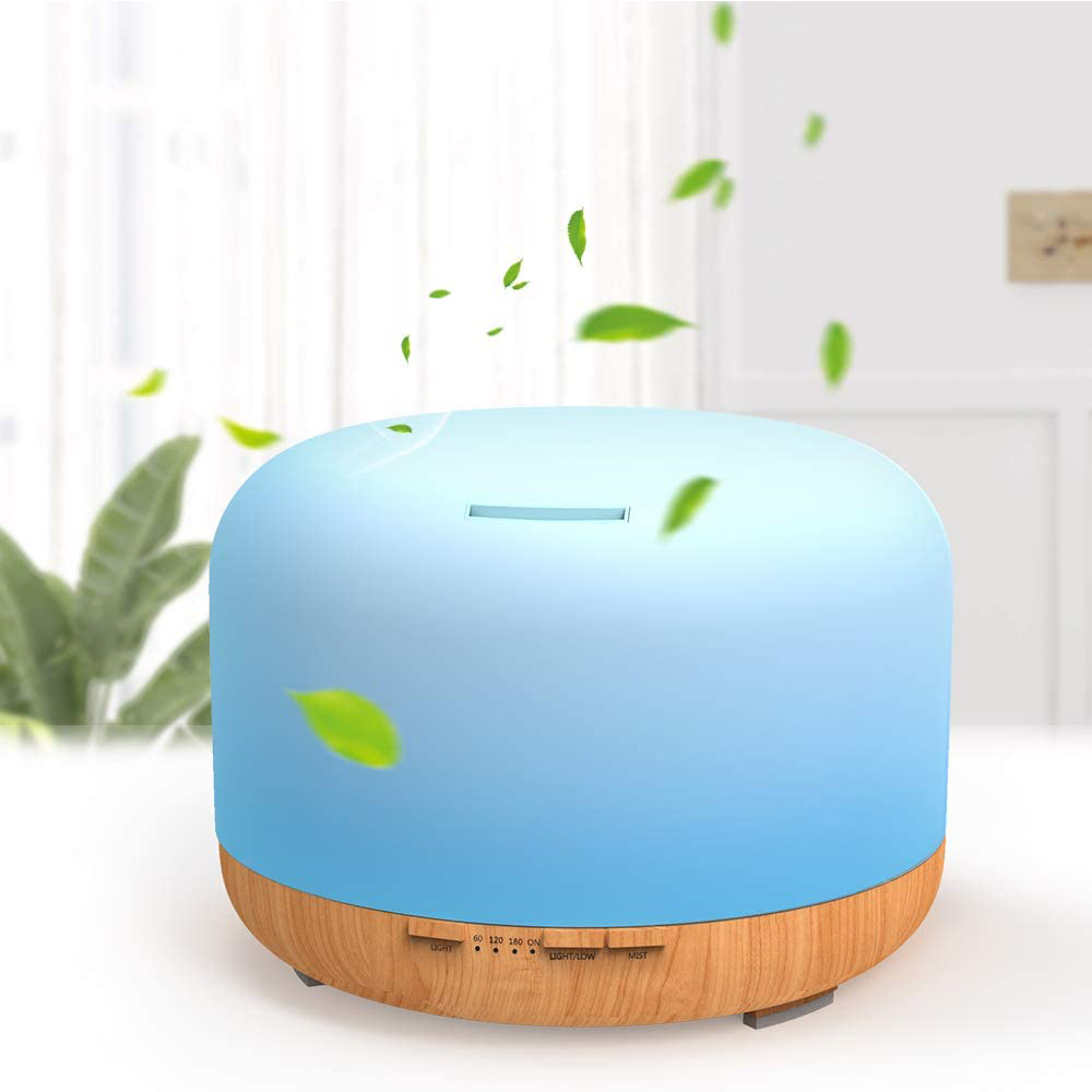 Aroma Therapy Essential Oil Diffuser and Mist Humidifier_2