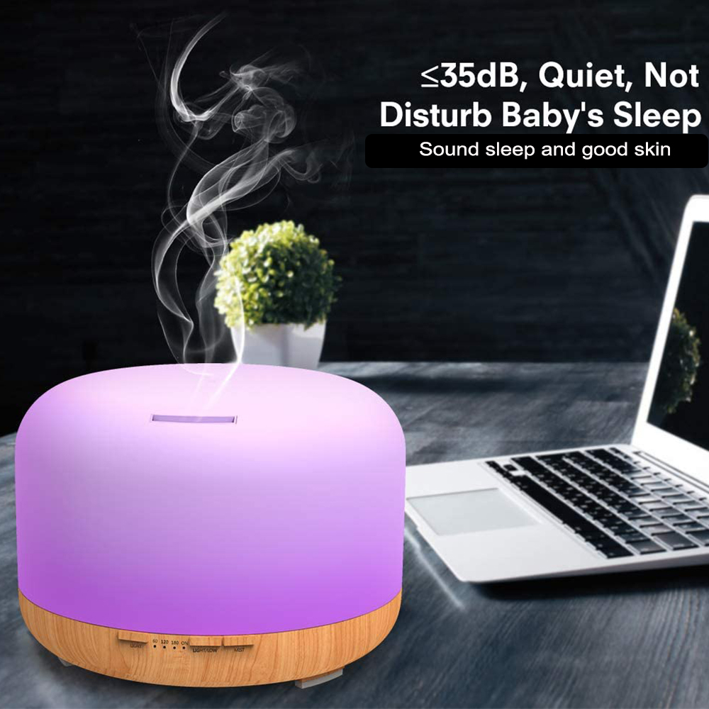 Aroma Therapy Essential Oil Diffuser and Mist Humidifier_4