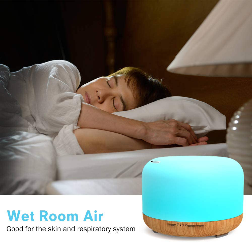 Aroma Therapy Essential Oil Diffuser and Mist Humidifier_6