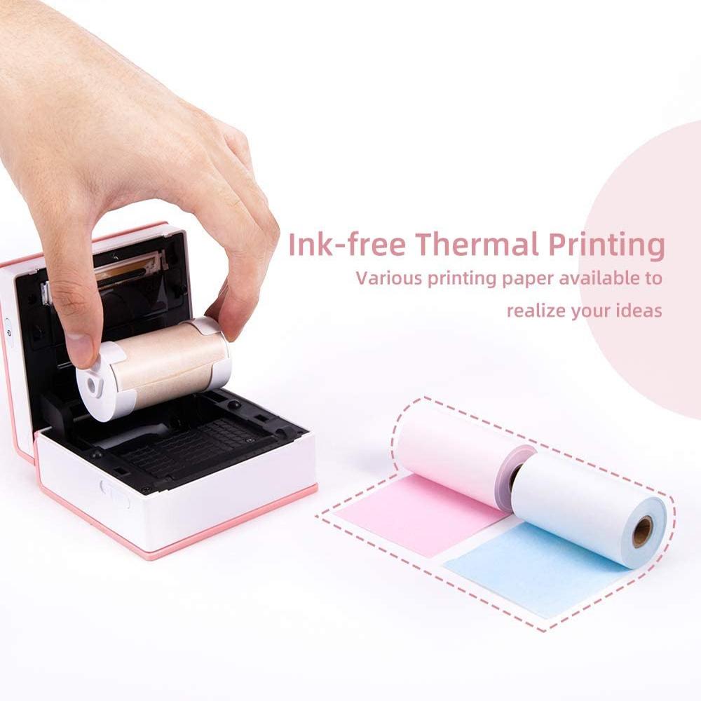M02 Mini Pocket Wireless Thermal Printer for Mobile Phone_6