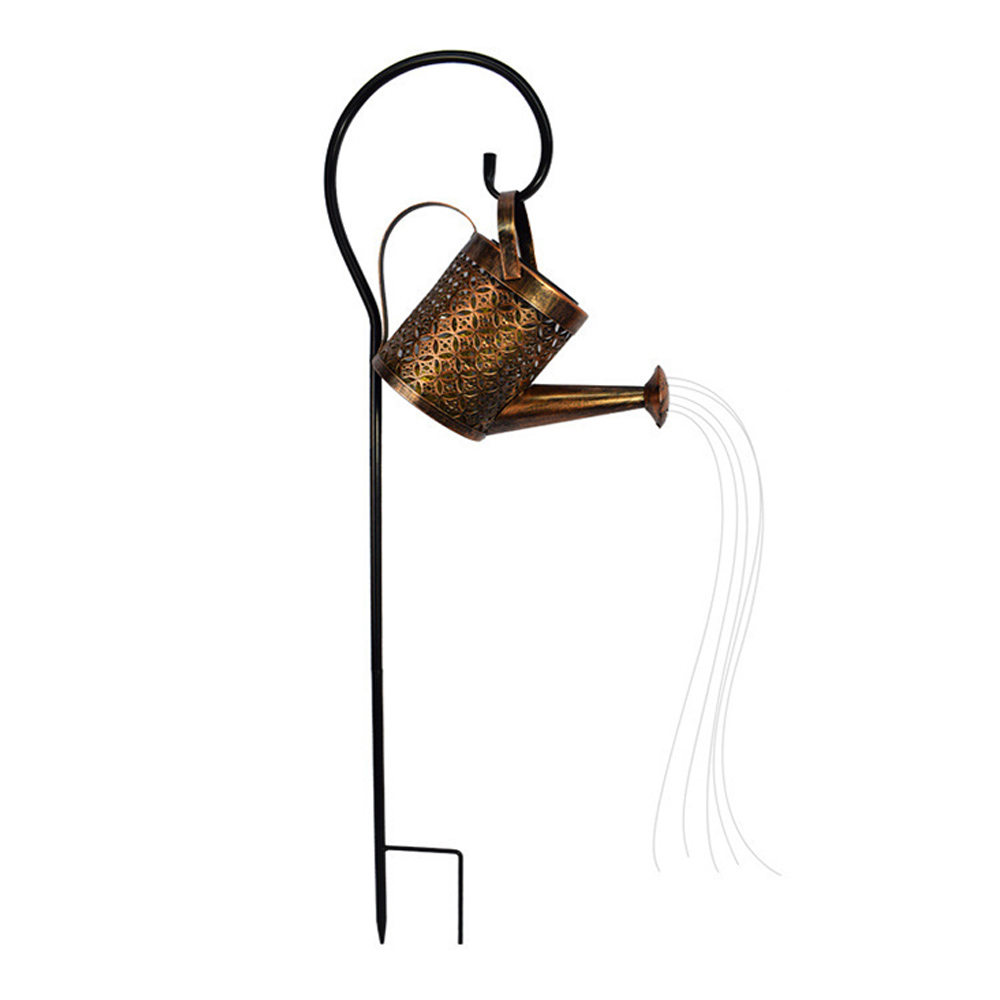 Solar Powered Watering Can LED String Light Outdoor Garden Décor_7