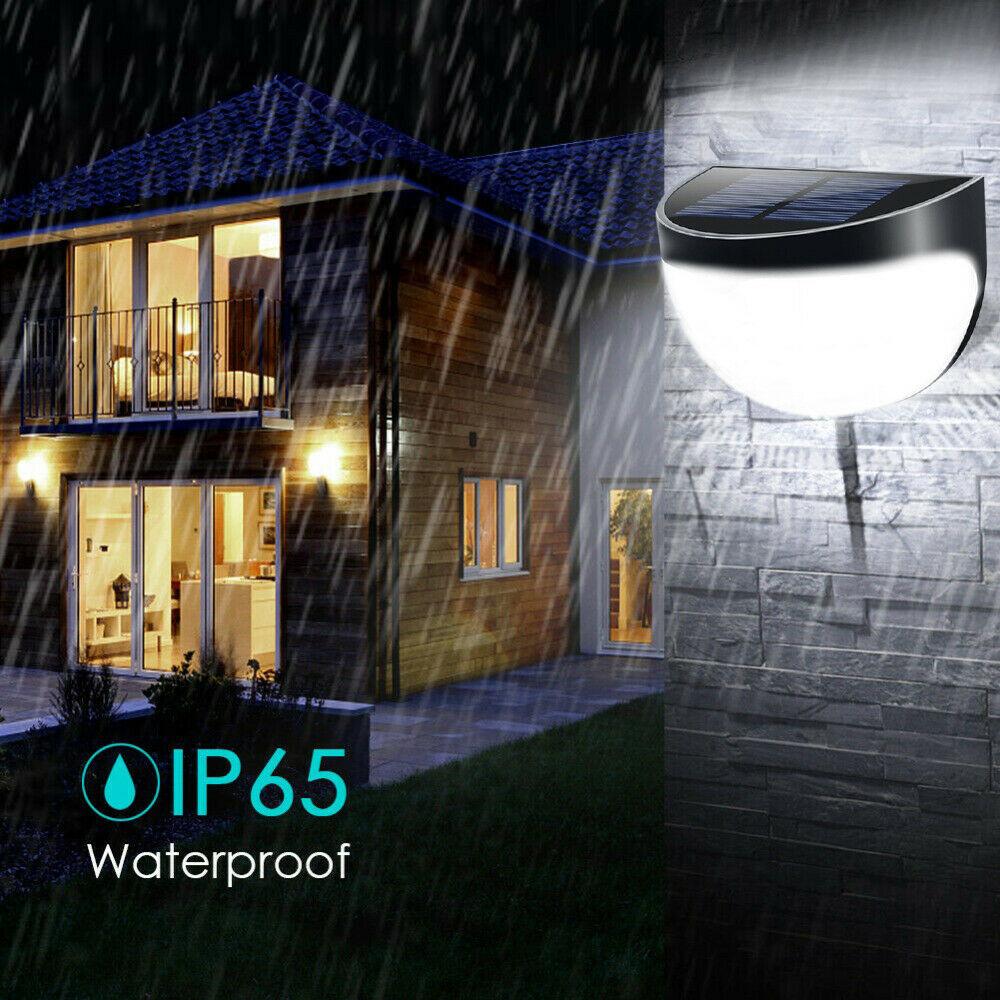 Solar Powered Light Sensor Outdoor Waterproof Wall Light_8