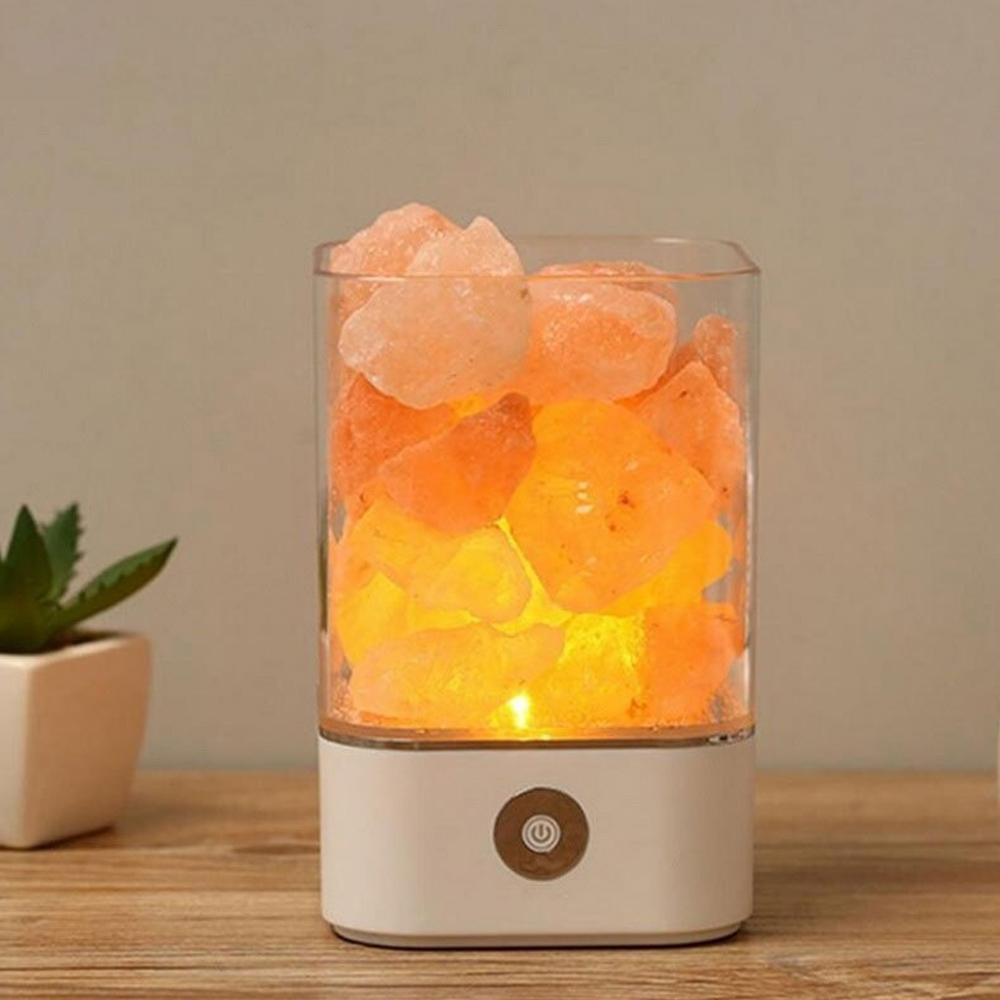 Ultrasonic Aromatherapy Himalayan Salt Lamp and Diffuser_3