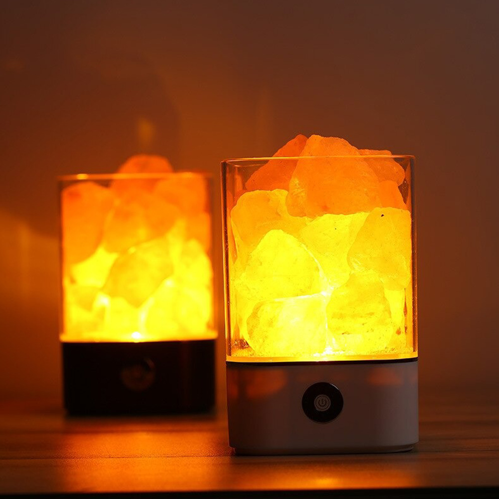 Ultrasonic Aromatherapy Himalayan Salt Lamp and Diffuser_4