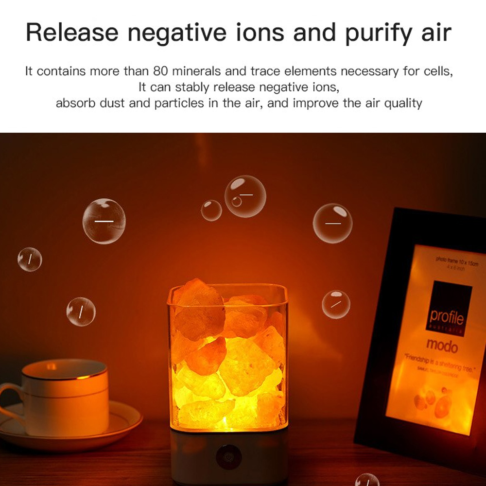 Ultrasonic Aromatherapy Himalayan Salt Lamp and Diffuser_7