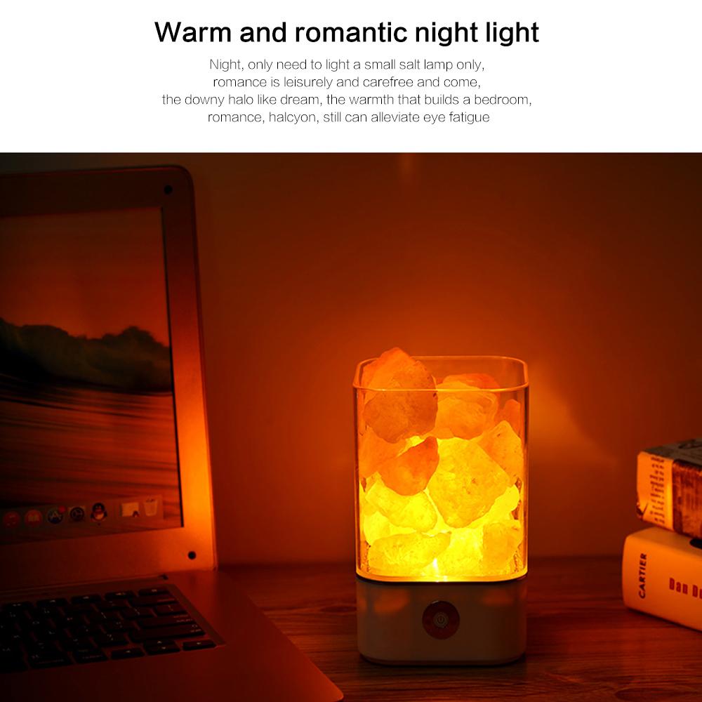 Ultrasonic Aromatherapy Himalayan Salt Lamp and Diffuser_8