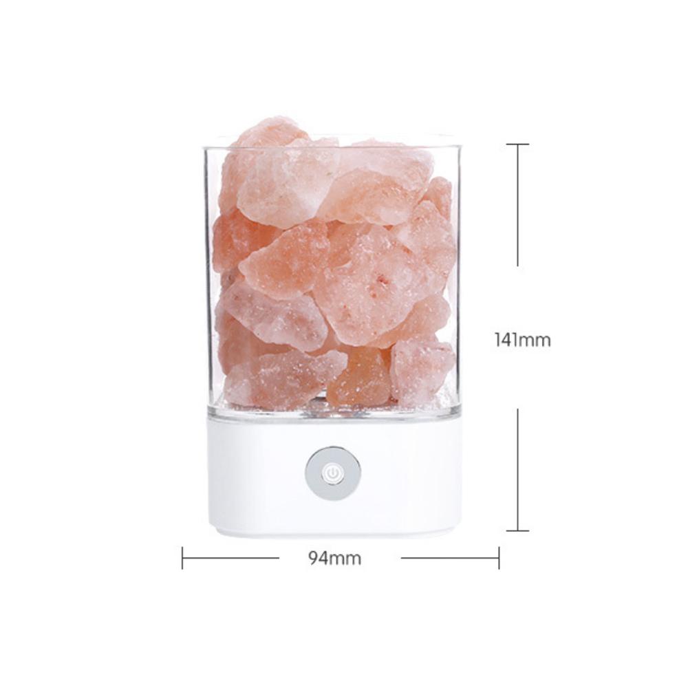 Ultrasonic Aromatherapy Himalayan Salt Lamp and Diffuser_9
