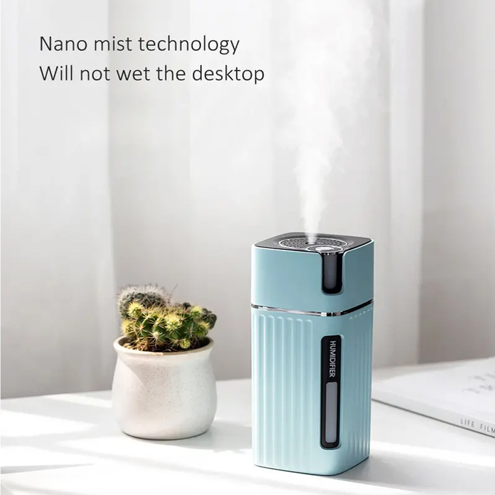 300ml Ultrasonic Electric Humidifier Cool Mist Aroma Diffuser_5