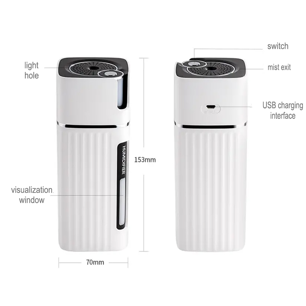 300ml Ultrasonic Electric Humidifier Cool Mist Aroma Diffuser_7