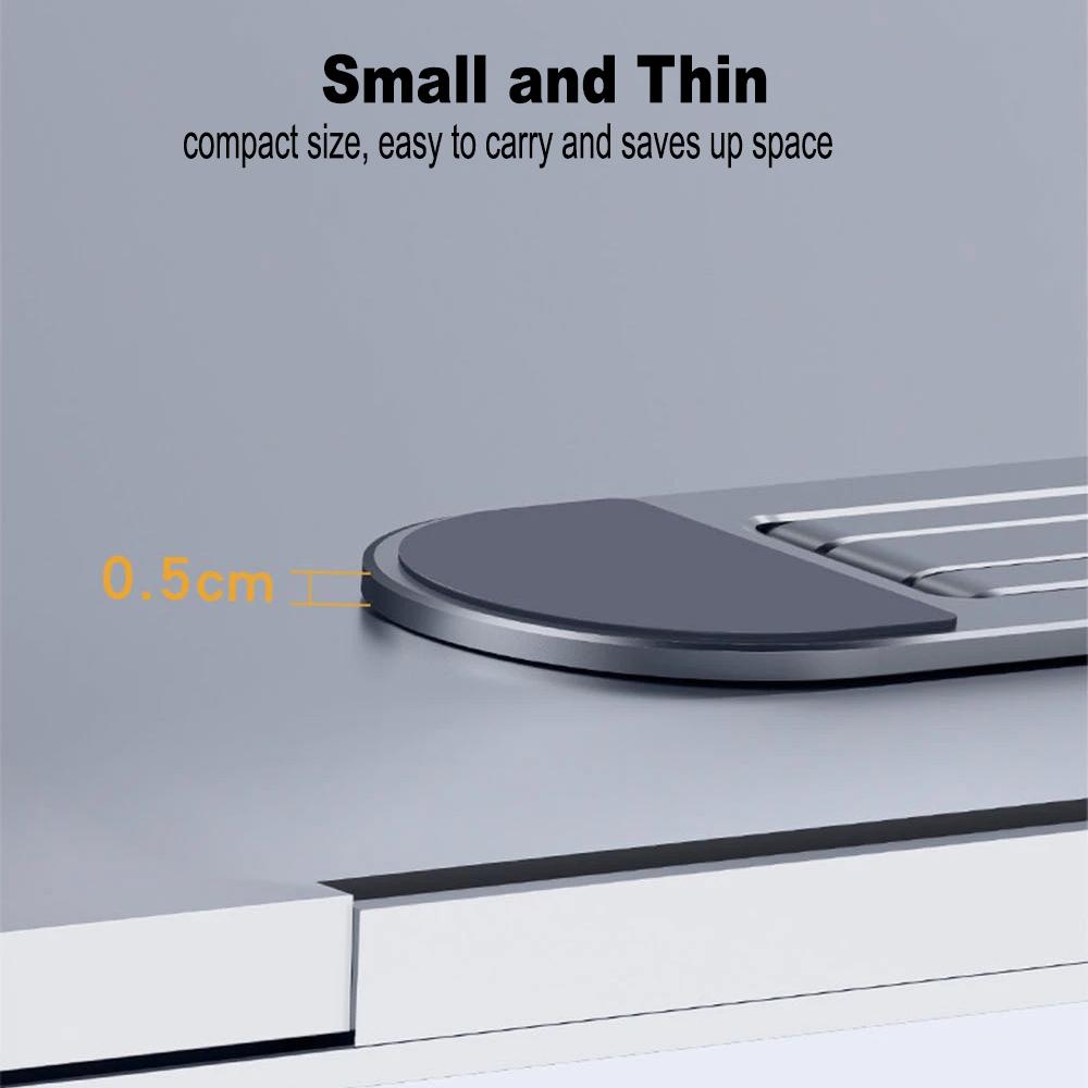 Ergonomic Foldable Aluminum Laptop Cooling Stand and Holder_2