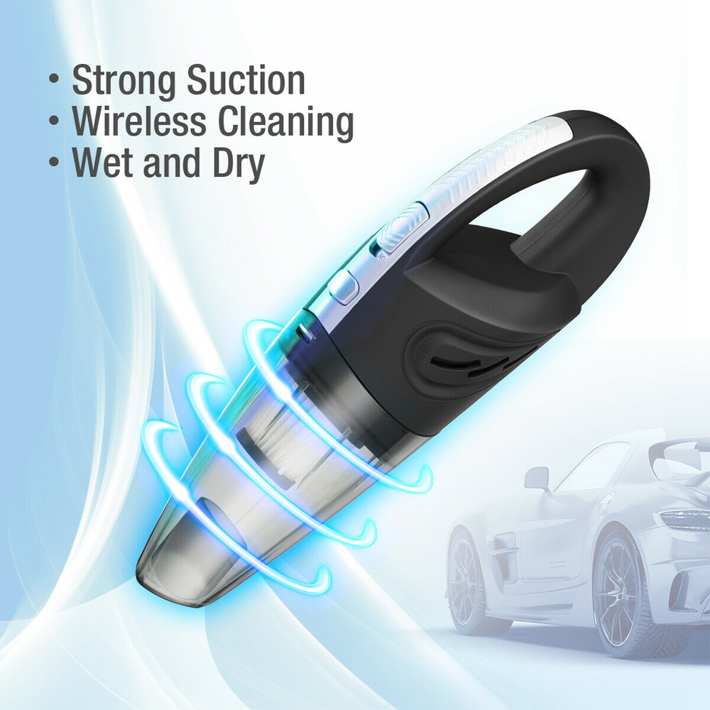 USB Rechargeable Cordless Car Wet and Dry Vacuum Cleaner_8