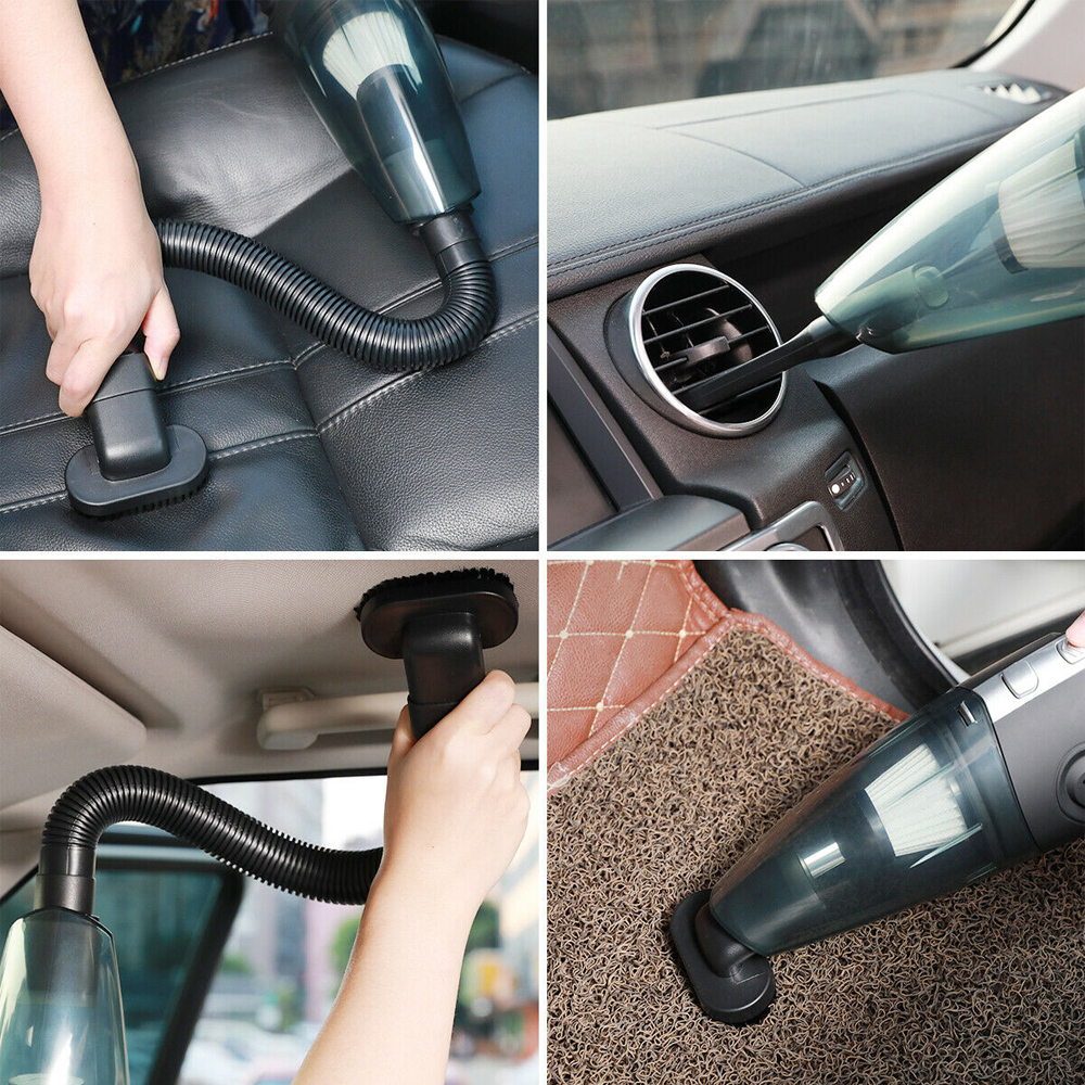 USB Rechargeable Cordless Car Wet and Dry Vacuum Cleaner_4