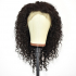 Water Wave Vietnamese Virgin Human Hair Lace Front Wigs With Baby Hair