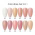 BIN Cupcici Color Base Coat Gel 2 In 1 UV Gel Nail Polish