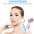 Rechargeable Deep Pore Cleansing Electronic Face Cleaner Brush