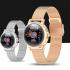 Blood Oxygen Heart Rate Waterproof Women Digital Smartwatch
